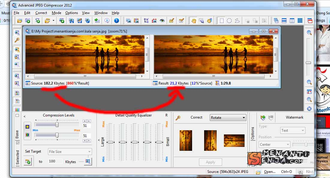 Advanced JPEG Compressor 2012 Full Version Gubuk Gratis